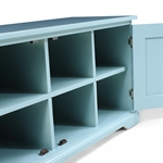 Middleton Painted Shoe Bench with Doors - Blue 603.052_lcnp7nul