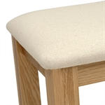 Georgian Oak Dressing Set with Fabric Stool 605.031_ar9q46y3