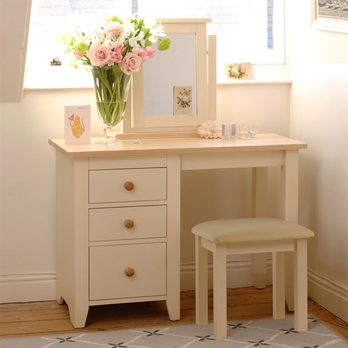Pine Dressing Table ~ Camden painted dressing table computer desk including