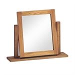 Rustic Oak Dressing Table Mirror 608.005_jknxkvw8