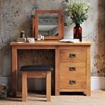 Rustic Oak Dressing Table Mirror 608.005_t30milix
