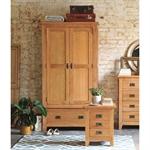 Rustic Oak Gents Wardrobe 608.007_ykfsh1te