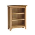 Rustic Oak Small Bookcase 3 Shelves 608.019_uxcl5zrd