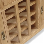 Rustic Oak Sideboard with Wine Rack 608.031_lat3kkw7