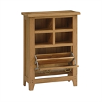 Rustic Oak Shoe Cupboard and Organiser 608.037_bl3mdhu7