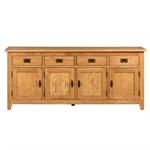 Rustic Oak Extra Large Sideboard 608.038_gkw60fhn
