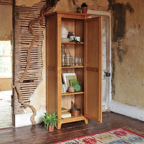 Rustic Oak Shaker Cupboard