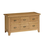 Rustic Oak Multi Drawer Coffee Table 608.052_ji2nqa4r