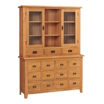 Rustic Oak Multi-Drawer Dresser 608.068_k6asf5hy