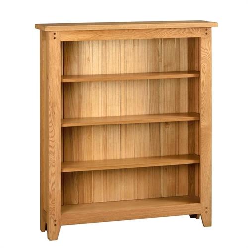 Rustic Oak Medium Bookcase
