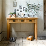 Rustic Oak Console Dressing Table 608.084_450gcu4t