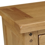 Rustic Oak Extra Small Sideboard 608.086_98getw5x