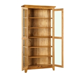 Rustic Oak Glazed Display Cabinet 608.107_cf0c1pjd