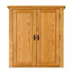 Rustic Oak Pantry Cupboard 608.115_9yi9tk1r