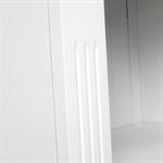 Provence Painted Tall Slim Bookcase 609.036_u450cbvl