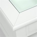 Provence Painted Open Display Coffee Table 609.047_tgr70x68