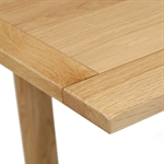 Light Oak 90-155cm Square Extending Dining Table 610.011_llromxov