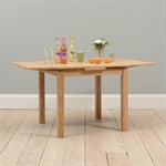 Light Oak 90-155cm Ext. Table and 4 Shaker Chairs 610.027_y3i2qxul