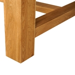 Light Oak 220-265-310cm Ext. Dining Table 610.062_molcfqje