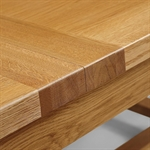 Rustic Oak 220-265-310cm Ext. Dining Table 610.065_wdy2aghj