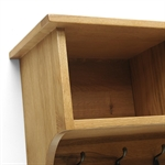 Rustic Oak Shoe Storage Hallway Set 610.079_cnimvzvu