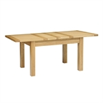 Light Oak 132-162-192cm Ext. Table and 4 Wooden Chairs 610.099_j9t0uqzu