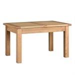 Light Oak 132-162-192cm Table and 4 Black Straightback Chairs 610.111_dpa4ahl2