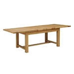 Light Oak 180-220-260cm Ext. Table and 6 Grey Chairs 610.123_accp1jn6