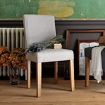 Light Oak 180-220-260cm Ext. Table and 6 Grey Chairs 610.123_e8q37xtq