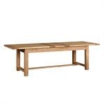 Light Oak 220-265-310cm Ext. Table and 8 Cream Rollback Chairs 610.137_mk26swgn
