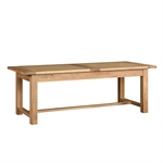 Light Oak 220-265-310cm Ext. Table and 8 Linen Chairs 610.139_vacsb6wy