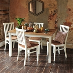 Chiltern Painted Dining Set with 6 Chairs 613.005_888bju9k