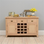 Grove Oak Sideboard with Wine Rack 615.009_x7p5fkkm