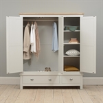 Kenwith Grey Bedroom Set with Triple Wardrobe 616.023_o4upji5b