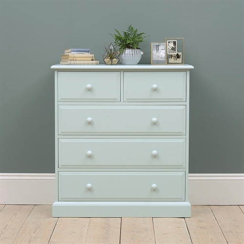 Alvescot Blue 2+3 Chest of Drawers