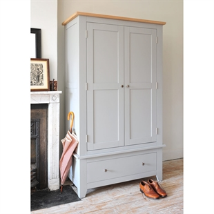 Banbury Grey Gents Wardrobe