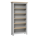Banbury Grey Large Bookcase 620.023_ua12ukms
