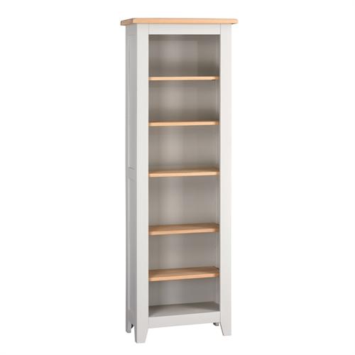 Banbury Grey Tall Slim Bookcase