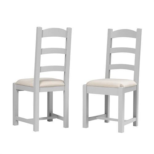Banbury Grey Ladderback Dining Chair