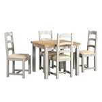 Banbury Grey 90-155cm Ext. Table and 4 Chairs 620.042_508pi7sy