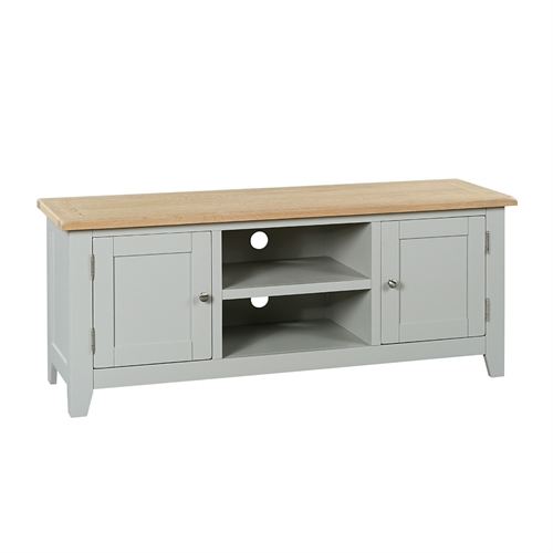 Banbury Grey Widescreen TV Unit - Up to 65