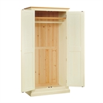Winchester Painted Bedroom Set with Full Hanging Wardrobe 623.067_7tjeurip