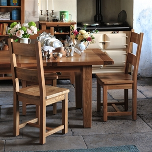 Vancouver Oak 140cm-180cm Ext. Dining Table