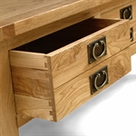 Vancouver Oak 2 Drawer Coffee Table 721.043.3