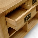 Vancouver Oak Shoe Storage Bench 721.073.4