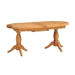 Vancouver Oak 190-240cm Round Ext. Table with 6 Chairs 721.179_tvwjsg14