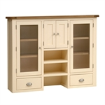 Canterbury Cream Large Glazed Hutch 732.037.1