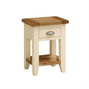 Canterbury Cream Side Table