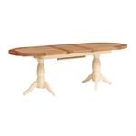 Canterbury Cream Twin Pedestal 190-240cm Ext. Table 732.078_u47bfjzt