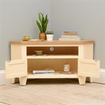 Canterbury Cream Large Corner TV Stand - up to 57 732.079_w738uady